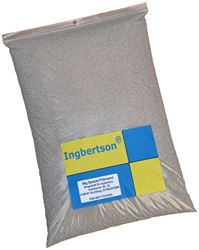 5kg Ingbertson® Spezial - Filtersand 0,4-0,8 mm Quarzsand Fugensand