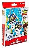 Sambro DTS-3394 - Braccioli 3D Toy Story con Woody e Buzz Lightyear, per bambini dai 3 ai 6 anni, con valvola di sicurezza, ideali per piscina, spiaggia e piscina, multicolore