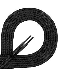Di Ficchiano Schnürsenkel, Rundsenkel für Business- und Lederschuhe, reißfester Allroundsenkel, ø 3mm, Länge 60 - 130 cm, 21 Farben aus Polyester