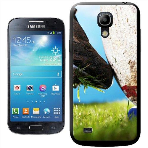 Rugby Hartschale für Samsung Modelle, Boot Kicking Rugby Ball, Samsung Galaxy S4 Mini (i9190) Samsung Rugby