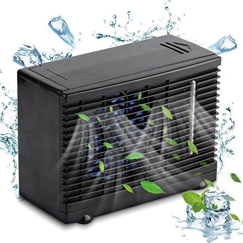 Foto de 12 V Ventilador de Climatización Portátil Auto Mini de Coche Aire Acondicionado Cool Ventilador de Coche Ventana Air Vent Ventilador Enfriador