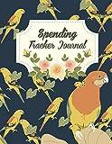 Spending Tracker Journal: Daily Expense Log,Business Spending Book, Expense Tracking, Expense Journal, Spending Tracker Book 120 pages Large Print 8.5
