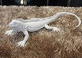 Decorazione Scultura Decorazione di Arredamento per La Casa Moderna Iguana Bionica Satinata di Resina Animale Creativa