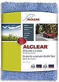 Alclear 820203U 820203UIF Panno Lucidante Double-Face, Multiuso, Premium, Senza Ologrammi, Auto/Barche/Lucidatrice, 40 x 40 cm, Blu