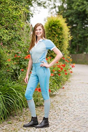 Femme Pantalon Flex Pour Bleu Bali D'équitation Covalliero DYWbe9IEH2
