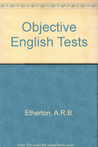 Objective English Tests