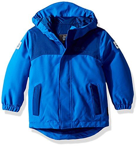 Jack Wolfskin Jungen B Kajak Falls Jacket Jacke Wattiert, Coastal Blue, 152