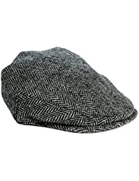 Amazon.co.uk  Harris Tweed - Flat Caps   Hats   Caps  Clothing ae0a01e826a6