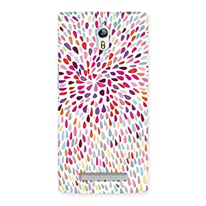 Gorgeous Colorful Pattern Print Back Case Cover for Oppo Find 7