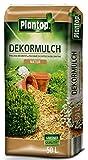 Rindenmulch Dekor 50 Liter natur Deko Mulch Garten Dekormulch Plantop