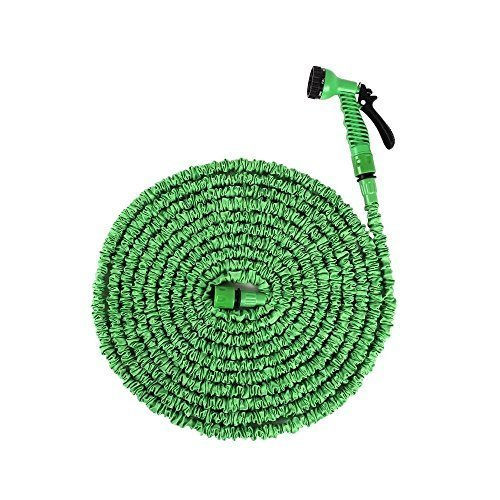 Ohuhu 75ft Expandable Hose with 7 Pattern Nozzle EU Test