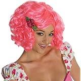 Rubie 's Costume Co secreto deseos de tarta de fresa para adulto peluca, rosa, adulto