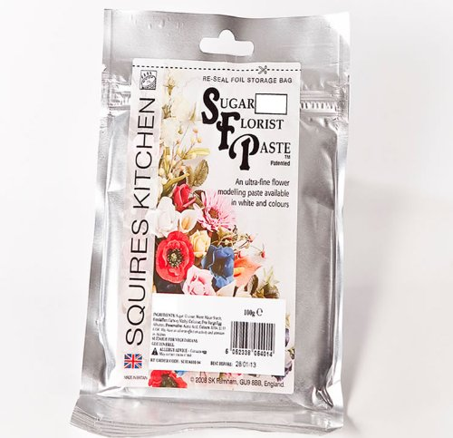 Squires Kitchen Sugar Floral Florist Paste SFP Daffodil Yellow Flowers 100G
