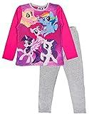 My little Pony Mädchen Schlafanzug Gr. 3-4 Jahre, 5 Characters - Pink/Grey