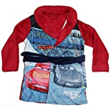Disney Pixar Cars Jungen Bademantel (98, Rot)