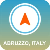 Abruzzen, Italien Offline-GPS