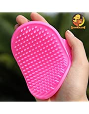 Foodie Puppies Pet Shampoo Brush (Colour May Vary)