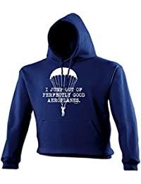 123t Unisex I JUMP OUT OF PERFECTLY GOOD AEROPLANES - Hooded Sweatshirt