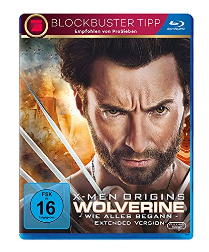 Bild von X-Men Origins - Wolverine - Extended Version [Blu-ray]