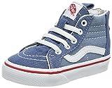 Vans Unisex Baby Sk8-hi Zip Sneaker, Blau (Denim 2-Tone), 21.5 EU