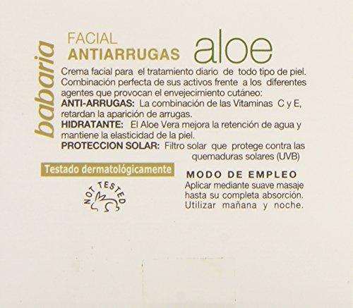 babaria Aloe Vera Antifaltencreme 50 ml - 5