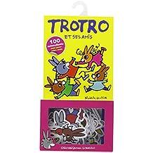 Boite Autocollants Trotro Amis 100 Pieces