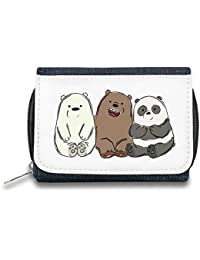 Cute Bears Monedero de Cremallera Bolso Zipper Wallet| The Stylish Pouch To Keep Everything Organized| Ideal For Everyday Use & Traveling| Authentic Accessories By Hamerson