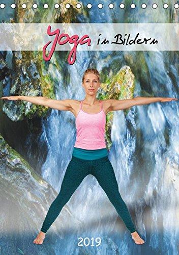 Yoga in Bildern (Tischkalender 2019 DIN A5 hoch): Yogastellungen isoliert auf Weiß mit Schatten (Monatskalender, 14 Seiten ) (CALVENDO Gesundheit)