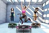 Miweba JUMPNESS Fitness Trampolin Round 40` inklusive Pad 100 cm pink Minitrampolin Workout