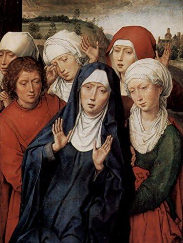 Lais Puzzle Hans Hans Hans Memling - diptyque de Grenade, Aile Droite: Les saintes Femmes et Saint Jean 1000 Pieces | être Nouvelle Dans La Conception  77e4e4