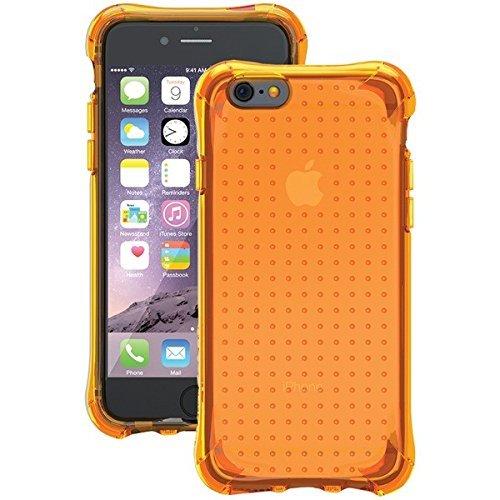 Ballistic iPhone 6 Plus/6S Plus Hülle [Juwel-Neon] 1,8 m Falltest zertifizierte Schutzhülle [Neon Orange] verstärkter Bumper Handyhülle für Apple iPhone 6+/6S+ - Neon Orange