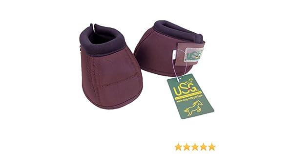 USG Hufglocke 2er Set Hufglocken schwarz extra leicht mit doppelklett S M L XL