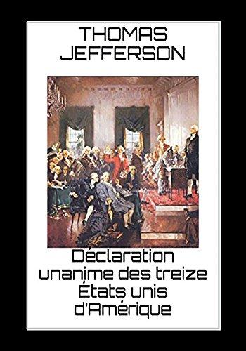 dclaration-unanime-des-treize-tats-unis-damrique-french-edition
