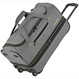 Travelite Basics Trolley Reisetasche 55 cm grau grün