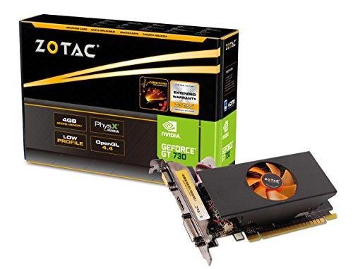 ZOTAC GeForce GT 730 4GB DDR5 ZONE Edition