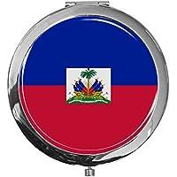 "metALUm - Extragroße Pillendose in runder Form""Flagge Haiti"" preisvergleich bei billige-tabletten.eu"