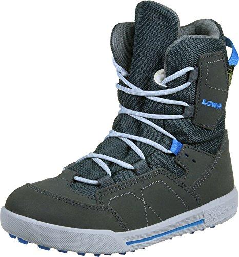 Lowa Unisex-Kinder Raik Gtx Mid Trekking-& Wanderstiefel grau blau