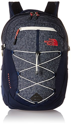 The North Face W Borealis Zaino da Escursionismo, 47 Cm, 25.0 Litri, Colore Cosmic Blue/Calypso Coral