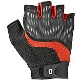 Scott Essential Fahrrad Handschuhe kurz schwarz/rot 2019: Größe: L (10)