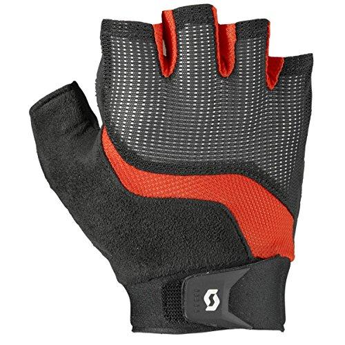 rad Handschuhe kurz schwarz/rot 2018: Größe: L (10) (Kurze Rote Handschuhe)