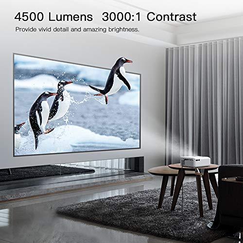 Zoom IMG-2 proiettore apeman portatile videoproiettore 4500