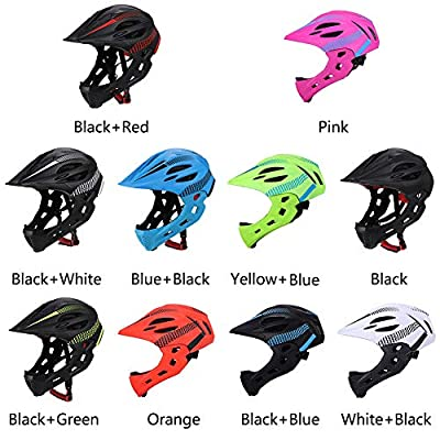 XHXseller Crankster Bicycle Helmet,Mountain Bike Cycle Cycling Bicycle Helmet, Riding With Rear Light Detachable Helmet for Mens Womens Kids Boys Girls by XHXseller