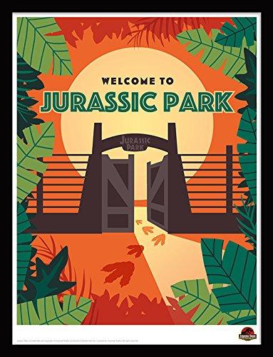 Foto Rahmen und Art 14x 27,9cm Jurassic Park Iii, Mehrfarbig, 41x 33x 3cm