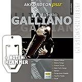 RICHARD GALLIANO für Akkordeon solo inkl. praktischer Notenklammer - 8 Hits des berühmten Akkordeon-Virtuosen in einem Band (Akkordeon pur) (broschiert) von Hans Günther Kölz (Noten/Sheetmusic)