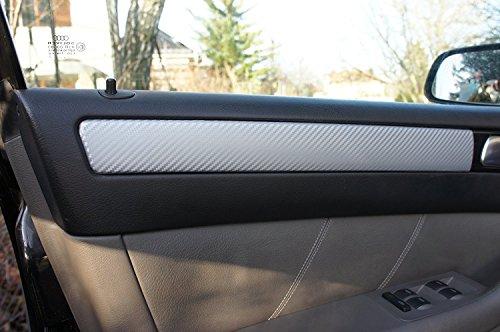 ORIGINAL 3D CARBON ZIERLEISTEN SET , 15 teiliges Folienset aus 3D Carbon Schwarz Folie, für den Innenraum Ihres Fahrzeug siehe Fahrzeugliste