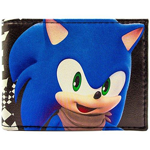 Sega Sonic Boom Hedgehog Charakter Schwarz Portemonnaie (Kostüme Kind Sonic Hedgehog The Sonic)