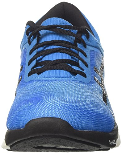 Asics Herren fuzeX Rush Gymnastikschuhe Blau (Aqua Splash/black/diva Blue)