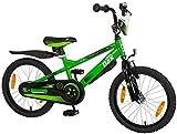 Bachtenkirch Kinderfahrrad 18'' Little DAX Timmy grün-schwarz RH 27 cm