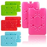 2 Pack Reusable Freezer Travel Ice Blocks - Choice of Colours (2 x Green Cool It Freezer Packs)
