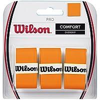 Wilson Pro Burn Overgrip de Tenis, Unisex Adulto, Naranja (Orange), Talla Única